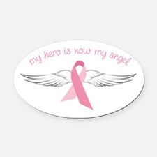 My Angel Oval Car Magnet