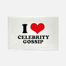 I Love (Heart) Celebrity Goss Rectangle Magnet