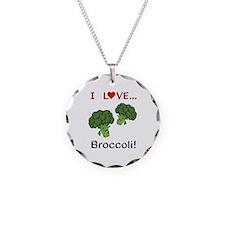 I Love Broccoli Necklace