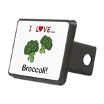 I Love Broccoli Rectangular Hitch Cover