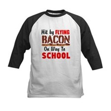 Hit By Flying Bacon on way to School Baseball Jers