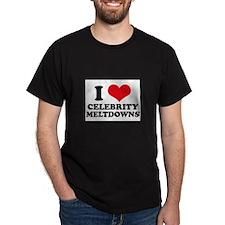 I Love (Heart) Celebrity Melt T-Shirt