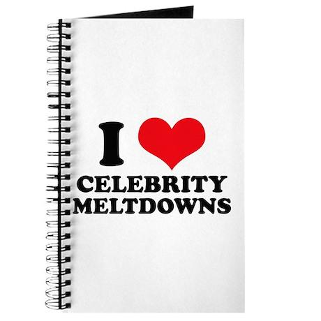 I Love (Heart) Celebrity Melt Journal