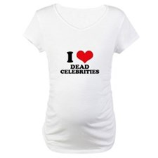 I Love (Heart) Dead Celebriti Shirt
