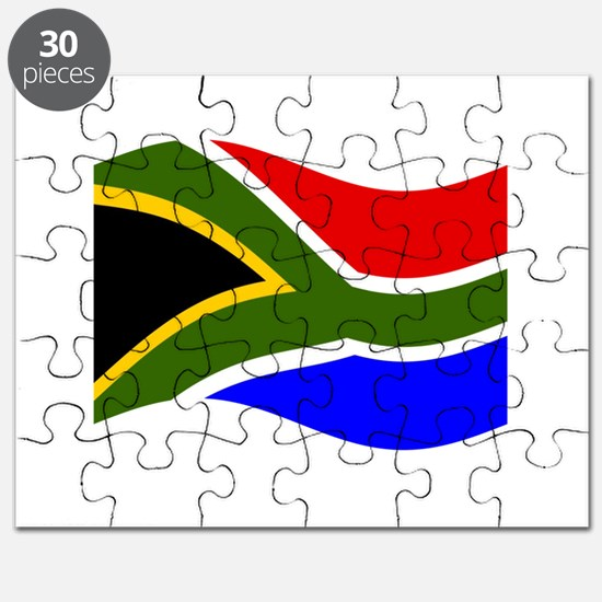 South African Flag Puzzles South African Flag Jigsaw Puzzle