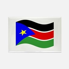 Waving South Sudan Flag Magnets