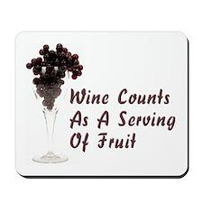 Wine Diet Mousepad