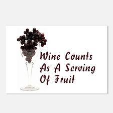Wine Diet Postcards (Package of 8)