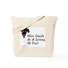 Wine Diet Tote Bag