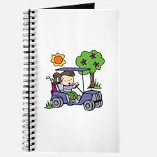 Golf Cart Driver Journal
