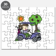 Golf Cart Driver Puzzle