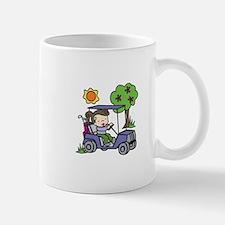 Golf Cart Driver Mugs