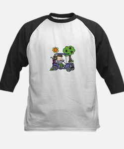 Golf Cart Driver Baseball Jersey