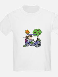 Golf Cart Driver T-Shirt