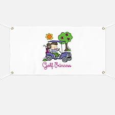 Golf Princess Banner