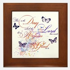 This is the Day Framed Tile