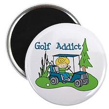 Golf Addict Magnets