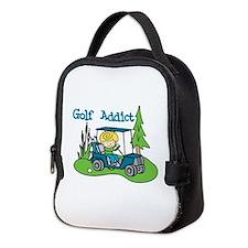 Golf Addict Neoprene Lunch Bag