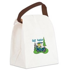 Golf Addict Canvas Lunch Bag