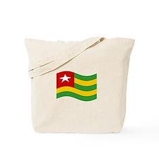 Waving Timor-Leste Flag Tote Bag