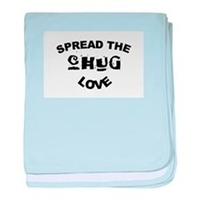 Spread the Chug Love baby blanket