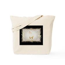 Gold Praying Hands Tote Bag