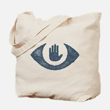 Stop Watching Us Eyecon Tote Bag