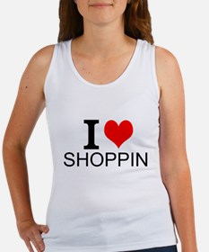 I Love Shopping Tank Top