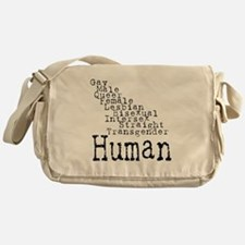 Human Messenger Bag