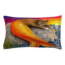Cat Mermaid 30 Pillow Case