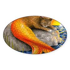 Cat Mermaid 30 Decal