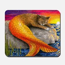 Cat Mermaid 30 Mousepad