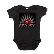 Formula 1 Red Race Car Baby Bodysuit
