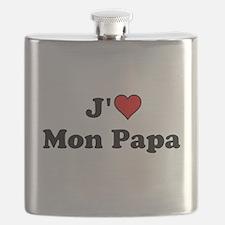 J HEART Mon Papa Flask