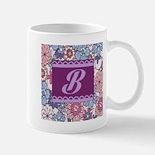 Monogram B Design Mugs