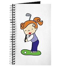 Golfing Girl Journal