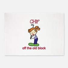 Chip off the Block 5'x7'Area Rug