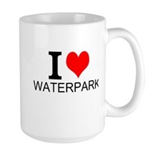 I Love Waterparks Mugs