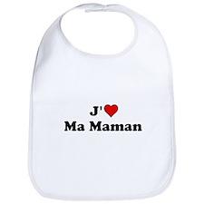 J HEART Ma Maman Bib