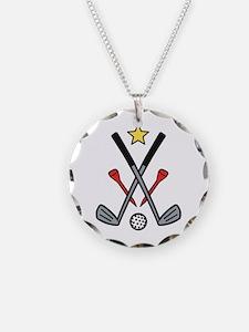 Golf Logo Necklace