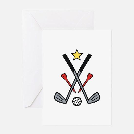 Golf Logo Greeting Cards