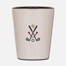 Golf Logo Shot Glass