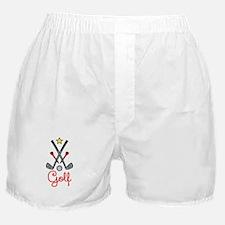 Golf Items Boxer Shorts