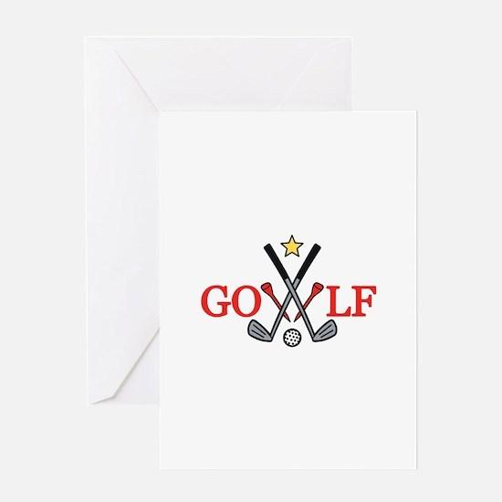 Golf Sport Greeting Cards