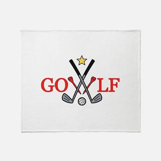 Golf Sport Throw Blanket