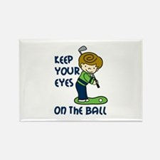 Eyes on the Ball Magnets