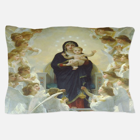 Mother Mary Pillow Case