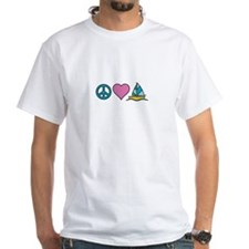 Peace Heart Sailing T-Shirt