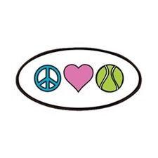 Peace Heart Tennis Patches