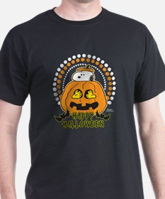 Snoopy and Woodstock Pumpkin T-Shirt